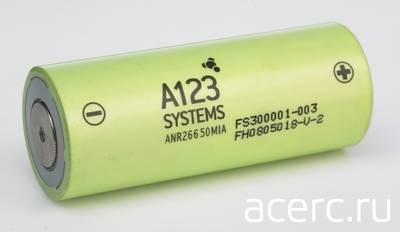 Аккумуляторы A123