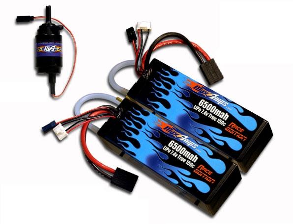 LiPo-аккумуляторы MaxAmps с водяным охлаждением