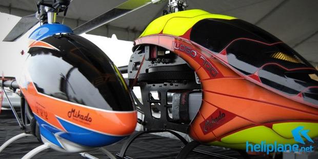 электро вертолеты 700 XXtreme и 600SX