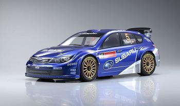 Kyosho DRX VE Subaru Impreza WRC 2008 With Syncro KT-200 2.4GHz Radio