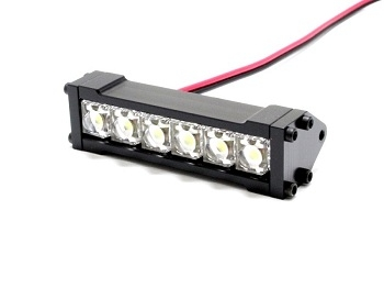 Шестизарядная LED подсветка Gear Head RC