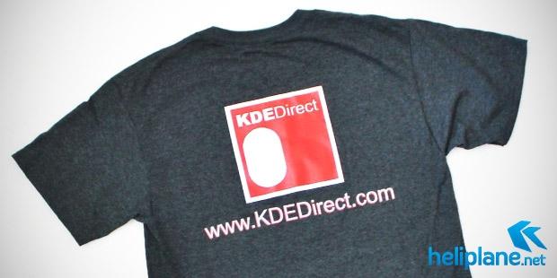 Футболки с логотипом KDE Direct