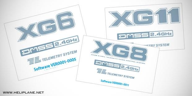Обновление прошивок JR Propo XG8, XG6 & XG11