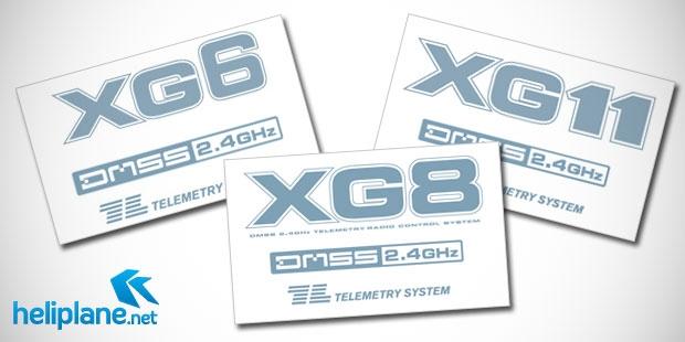 Обновления прошивок JR XG11, XG8 & XG6