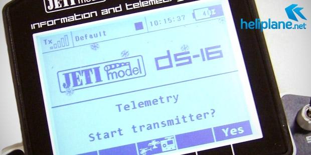 Обновление прошивки Jeti DC/DS-16 1.06.08