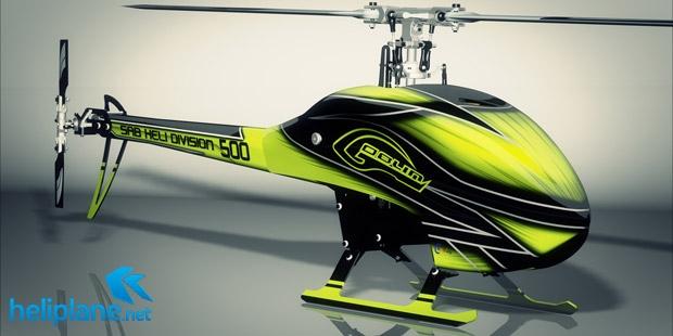 Электрический вертолет SAB Goblin 500