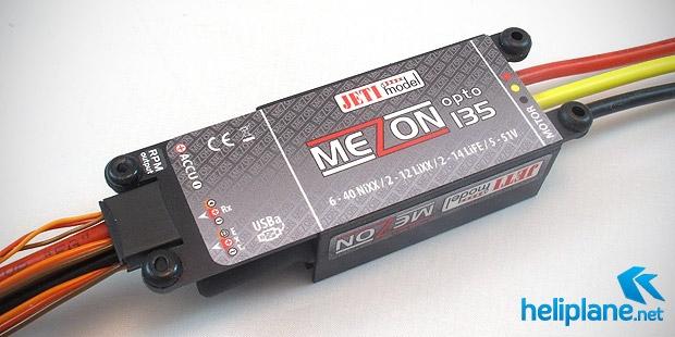 Бесколлекторный контроллер Jeti Mezon 135