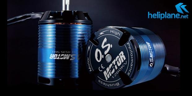 Бесколлекторные моторы O.S. OMH-4535