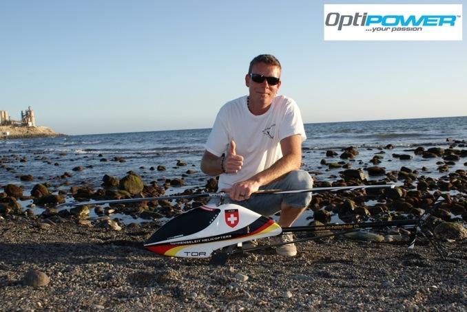 OptiPower подписывает скоростного пилота