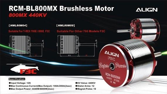 Align: Новый Align 800MX 440KV