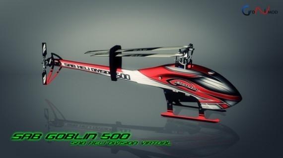 новым вертолетом SAB Goblin 500 теперь можно управлять в RealFlight Simulator