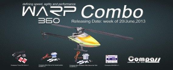 Компания Compass выпустила комбо-версию вертолета  Warp 360