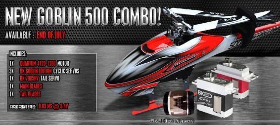 SAB Heli Division представили новую комбо-версию Goblin 500