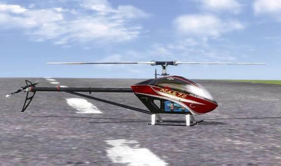 Кристиан Кайзер создал модель KDS Agile 7.2 для Real Flight 6.5