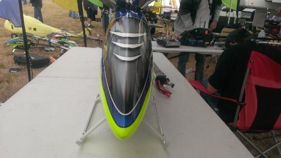 Первые фото капота Synergy E7 Speed