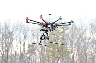 Обзор октокоптера DJI Spreading Wings S1000