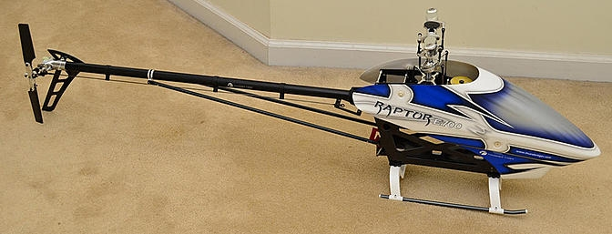 Обзор Thunder Tiger Raptor E700