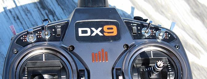 Обзор 9-канального передатчика Horizon Hobby & Spektrum DX9