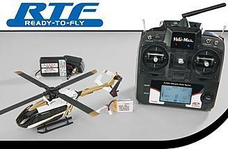Обзор Heli-Max EC145 Eurocopter RTF