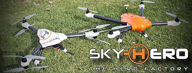 Sky Hero Spyder и Spy