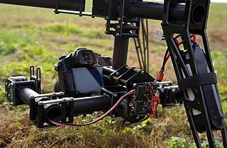 2-осевой бесколлекторный карданный подвес Aura от Copter Frames