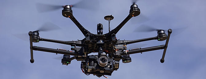 Обзор DJI Spreading Wings S800 Evo
