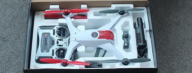 Обзор Horizon Hobby & Blade's 350 QX