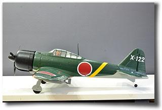Обзор Flyzone A6M2 Mitsubishi Zero