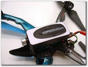 Обзор квадкоптера Hobbico Dromida Ominus FPV