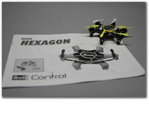 Обзор коптера Revell Nano Hexagon