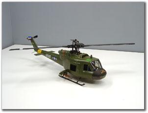 Обзор вертолета Blade SR UH-1 Huey Gunship RTF