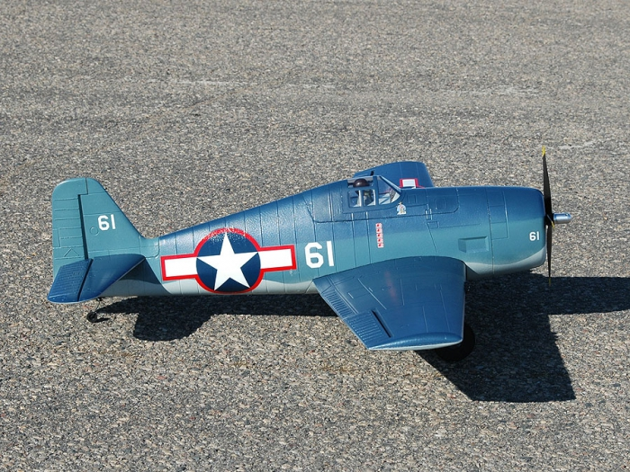 Обзор Tower Hobbies F6F Hellcat RxR